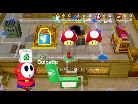 Super Mario Party - Kamek's Tantalizing Tower (Monty Mole, Goomba, Diddy Kong & Shy Guy)