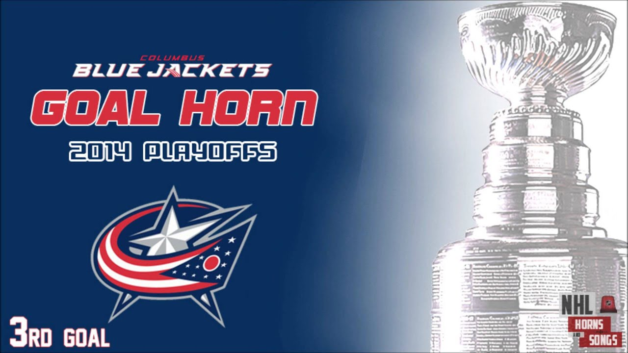 Columbus Blue Jackets 2014 Playoff Goal Horns ᴴᴰ - YouTube