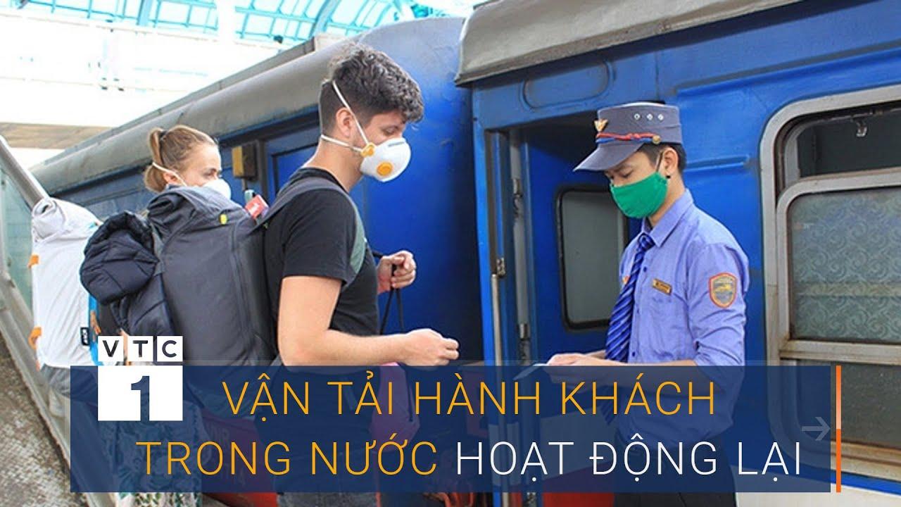 Ngày 8/5: Vận tải hành khách trong nước trở lại bình thường | VTC1