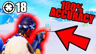 How To Disable Mouse Acceleration on Fortnite... IMPROVE AIM (18 KILL SOLO WIN)