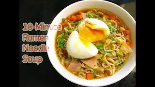 how to make ramen broth