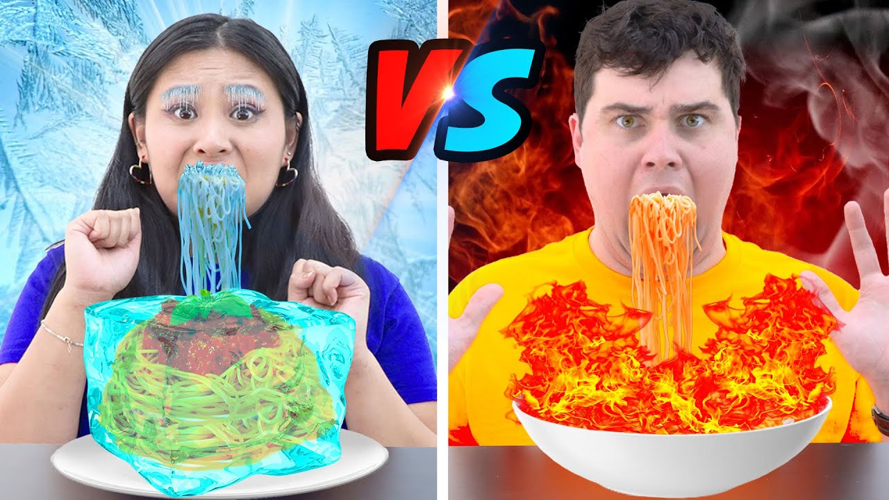 5 CRAZY PRANKS & CHALLENGES | FUNNY HOT VS COLD, FOOD CHALLENGE BY CRAFTY HACKS