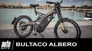 Bultaco Albero ESSAI POV Cyclomoteur électrique AUTO-MOTO.COM