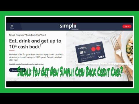 Simplii Financial Cash Back Visa Card | Brief Review by Financial Author Ahmed Dawn