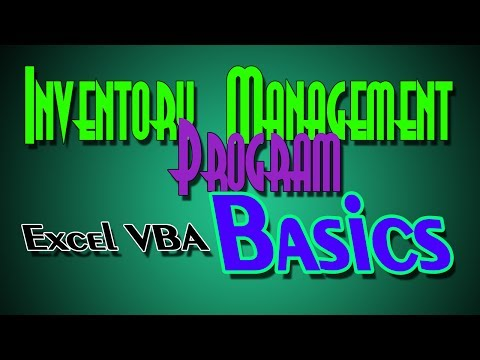 Inventory System 101 In Excel VBA   a Step by Step Guide to the Basics