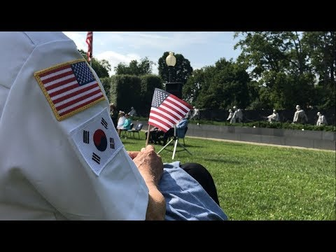 64 years on: Veterans reflect on Korean War and honor the fallen
