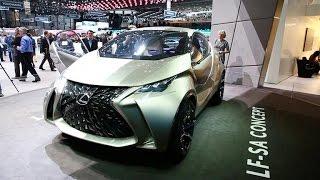 Lexus LF-SA Concept 2015 Videos