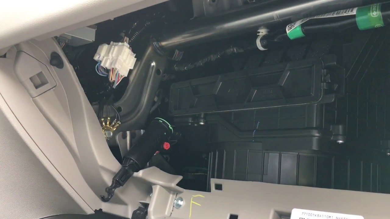 2017 Honda Odyssey Cabin Air Filter Change Diy