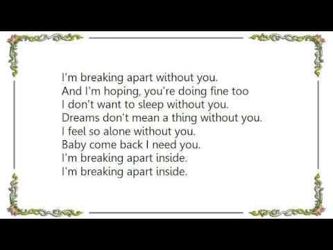 Chris Isaak - Breaking Apart Lyrics