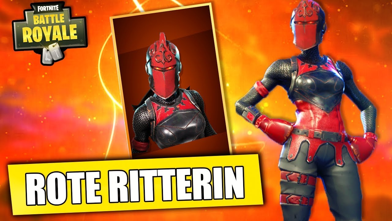 Fail Mit Rote Ritterin Fortnite Battle Royale Deutsch