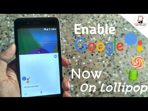 Get Google Assistant On Any Lollipop Device😮[No Root]