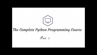 Python Tutorial for Beginners From the Basics to Advanced  1/2