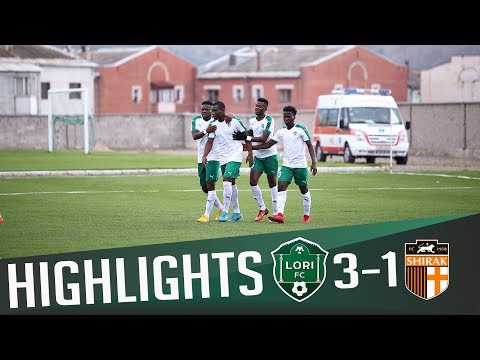 HIGHLIGHTS | Lori FC 3:1 SC Shirak