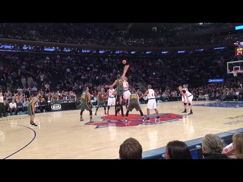 NY Knicks Vs. Utah Jazz - Madison Square Garden - 1/20/16 (Courtside)
