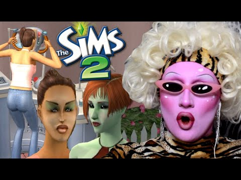 Banishing ghosts and plastic surgery - Juno plays the Sims 2