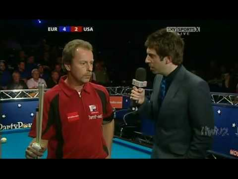 Mosconi Cup 2008 - Day 2 Match 2