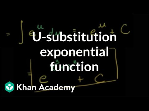 _-substitution Intro | AP Calculus AB | Khan Academy