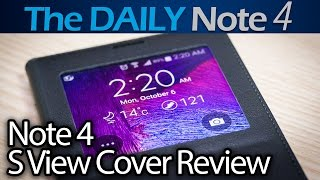 S View Cover for the Samsung Galaxy Note 4 Review