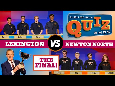 High School Quiz Show - The Championship: Lexington vs. Newton North (815)
