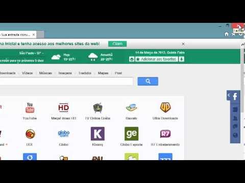 Como remover o Hao123.com.br