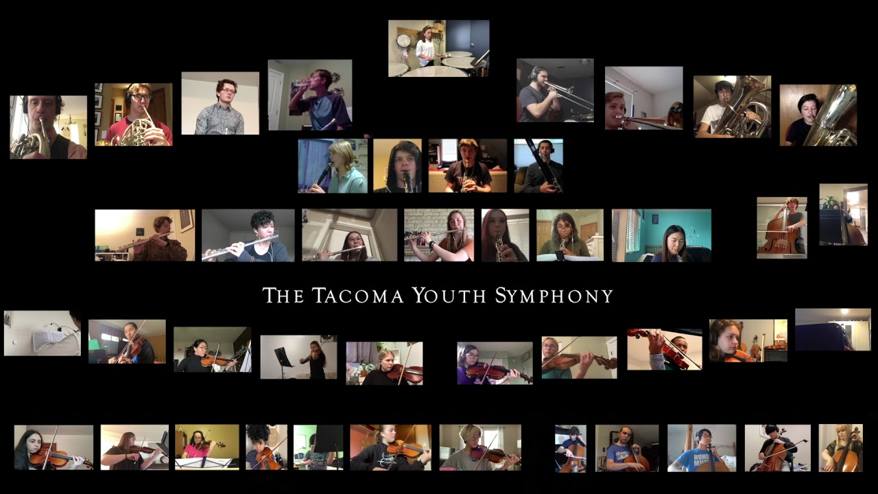 """A """"sublime"""" virtual performance by Tacoma Youth Symphony"""