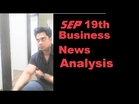 The Hindu Business news analysis 19th September 2017