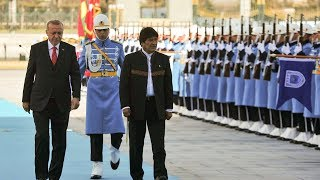 Bolivya Cumhurbaşkanı Cumhurbaşkanlığı Külliyesi'nde