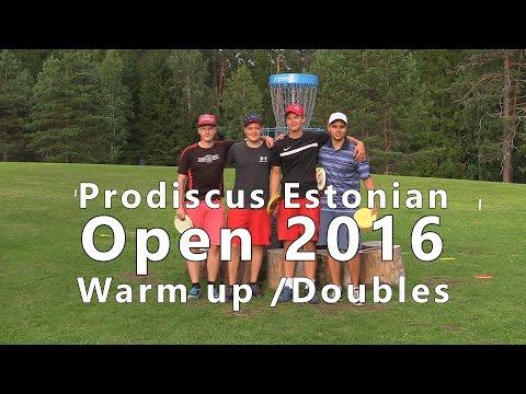 lcgm8 Disc Golf - Prodiscus Estonian Open 2016 Warm up/Doubles