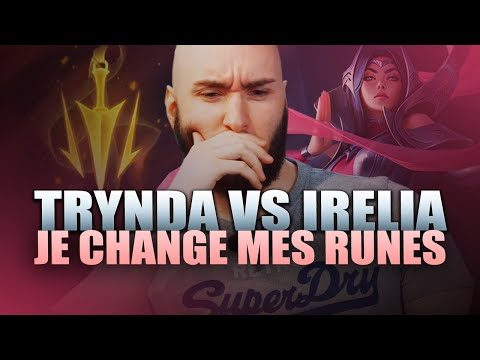 Vidéo d'Alderiate : [FR] ALDERIATE, PANDORE & ZENOZ - TRYNDA VS IRELIA - CA M'A DONNE TROP DE MALADIES ALED