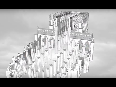 Amiens Cathedral: Construction Sequence