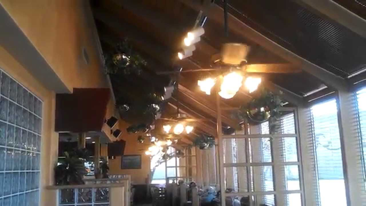 Casablanca Delta I Ceiling Fans in a restaurant  YouTube