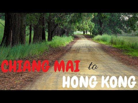 How to get from Chiang Mai to Hong Kong | HONG KONG travel | THAILAND travel