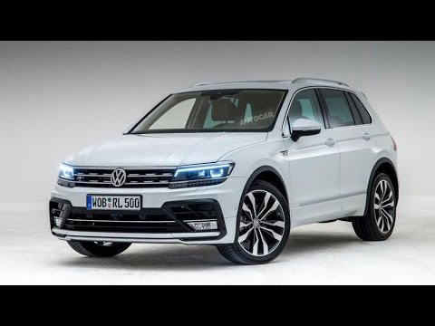 2016 Volkswagen Tiguan Review Rendered Price Specs Release Date
