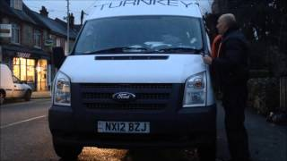Video ford transit van 2012 fitted with an avital 3300 van alarm security system download MP3, 3GP, MP4, WEBM, AVI, FLV Juni 2018