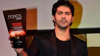 Varun Dhawan Launches New Skin Care Product For Men