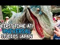 First Time at Universal Studios Japan | Day One Part One