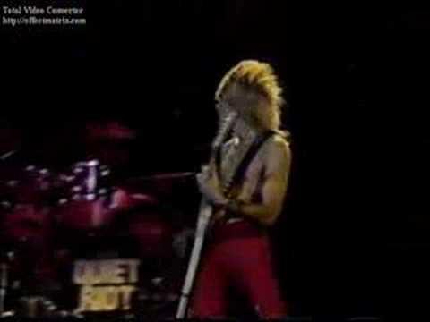 Quiet Riot - Slick Black Cadillac (RockPop in concert, 1983)