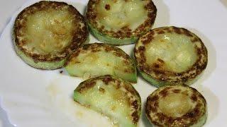 Жареные кабачки - Fried zucchini | Видео Рецепт