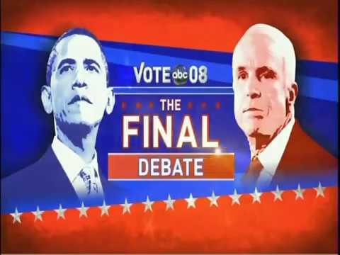 2008 presidential debates essay
