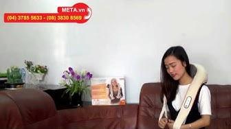 [META.vn] - Hướng dẫn sử dụng máy massage cổ vai gáy NM860