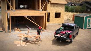 Decked Truck Bed Storage System - Construction Contractor