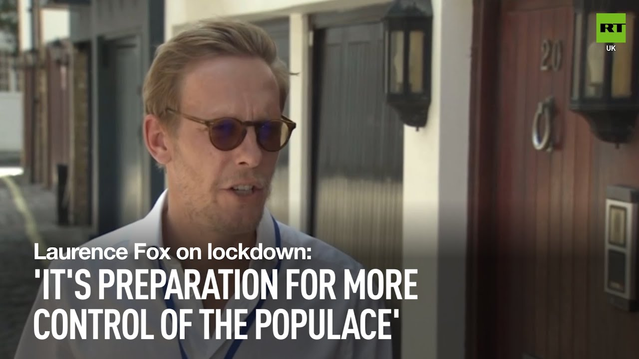 'It's preparation for greater control' | Reclaim Party's Laurence Fox on lockdown