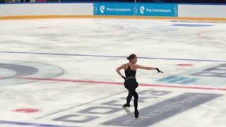 Alina Zagitova 2018 09 09 Open Skating FS Carmen H