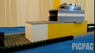 Лего мультик (война на море #2) #picpac #stopmotion #lego