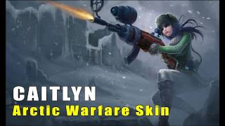 League of Legends: Arctic Warfare Caitlyn Skin Artwork