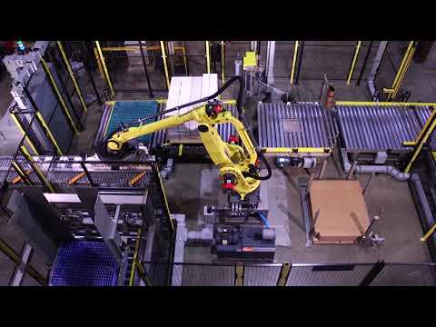 Robotic Stack And Wrap Palletizing System - Kaufman Engineered Systems