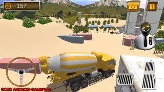 Construction Crane Hill Drive - New Levels UnlockedAndroid GamePlay FHD