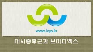 대사증후군과 브이디엑스 강의경기약사학술대회 180513