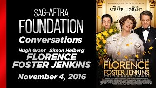Conversations with Hugh Grant and Simon Helberg of FLORENCE FOSTER JENKINS