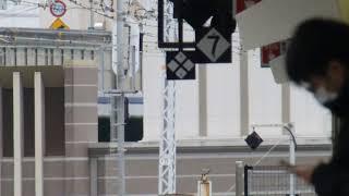 207系 東海道本線(JR神戸線 JR京都線) 神戸駅 到着